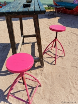 ...have a pink seat, please! :)