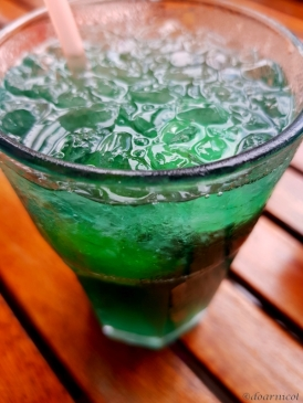 green savor on ice