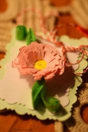 pink paper ...martisor